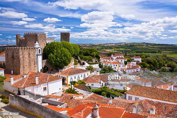 Obidos, a walled city in Portugal