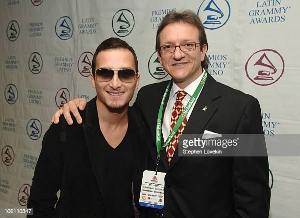 Obie Bermudez and Gabriel Abaroa President of The Latin Recording Academy