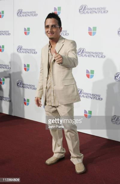 Obie Bermudez during 2005 Premios de la Juventud - Arrivals at University of Miami in Coral Gables, Florida, United States.