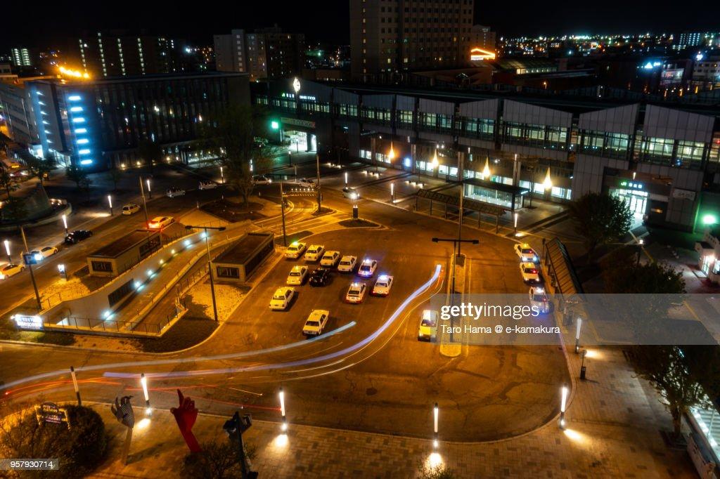 JR Obihiro station in Hokkaido in Japan : ストックフォト
