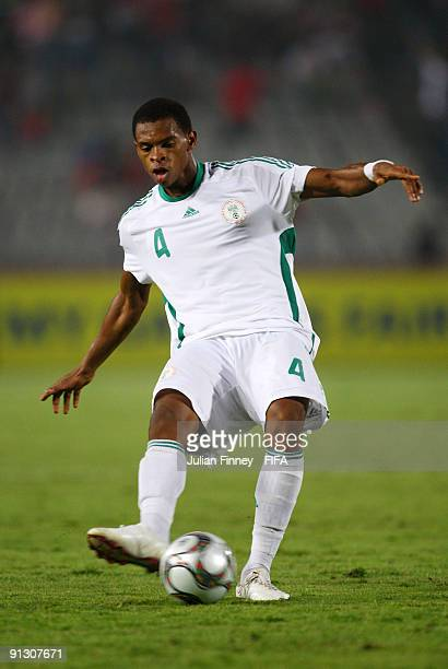 Obiora Nwankwo of Nigeria in action during the Group B, FIFA U20 World Cup match between Tahiti and Nigeria at the Cairo International Stadium on...
