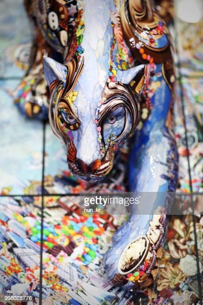 object, color leopard - nun stock-fotos und bilder