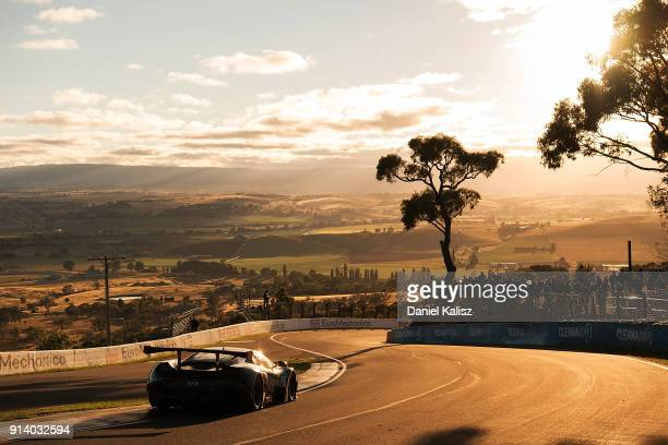 Tony Walls Warren Luff Timothy Slade Jaxon Evans drives during the 2018 Bathurst 12 Hour Race at Mount Panorama on February 4 2018 in Bathurst...