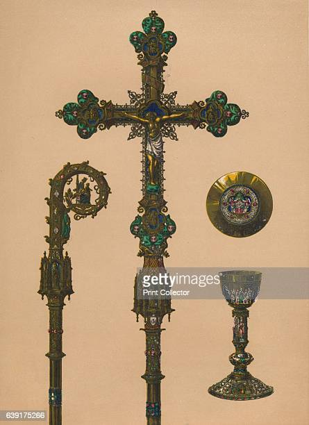 Objects for Ecclesiastical Use by EC Trioullier Paris' 1893 Gifts presented to Alexandra of Denmark on the occasion of her marriage to the future...