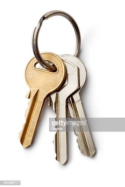 objects: keys - house key stock photos and pictures