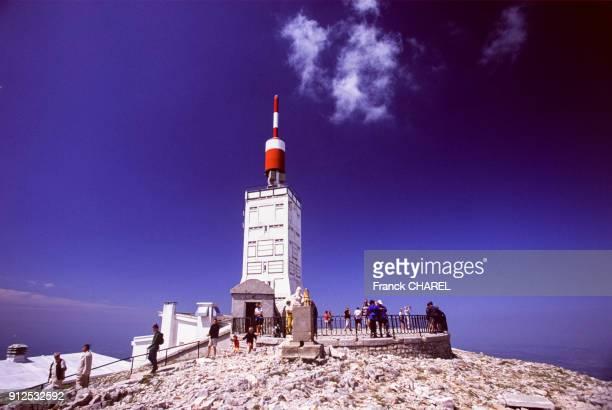 L'observatoire meteorologique au sommet du mont Ventoux dans le Vaucluse France
