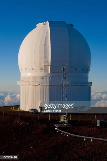Observatories at Mauna Kea summit, Mauna Kea.