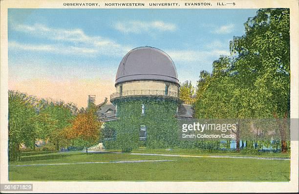 Observatory at Northwestern University in Evanston Illinois 1943