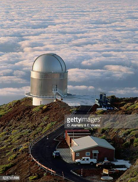 Observatory High Above Clouds