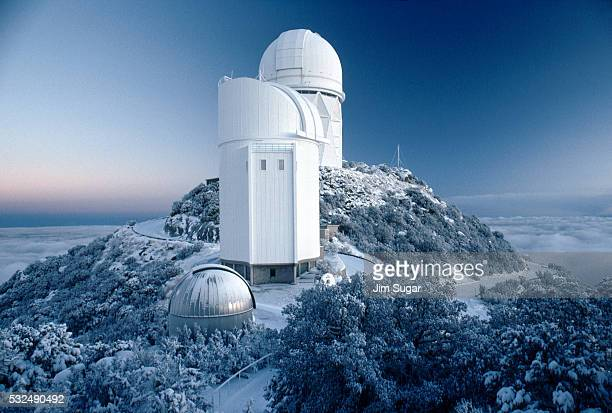 Observatory in the Snow