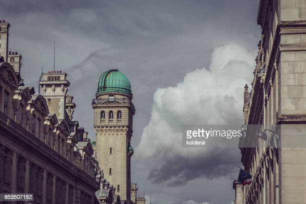 observatory of the sorbonne - university of paris stock photos and pictures