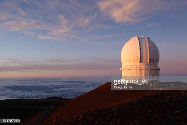 Observatory sunset