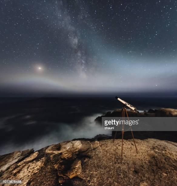Observing Mars & Milky Way with Telescope