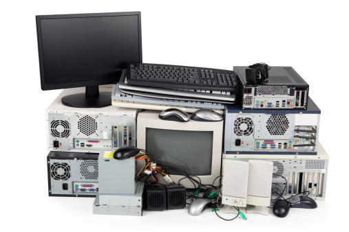Obsolete Computer Recycling 182188698