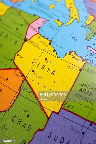 Obsolete Map: Libya