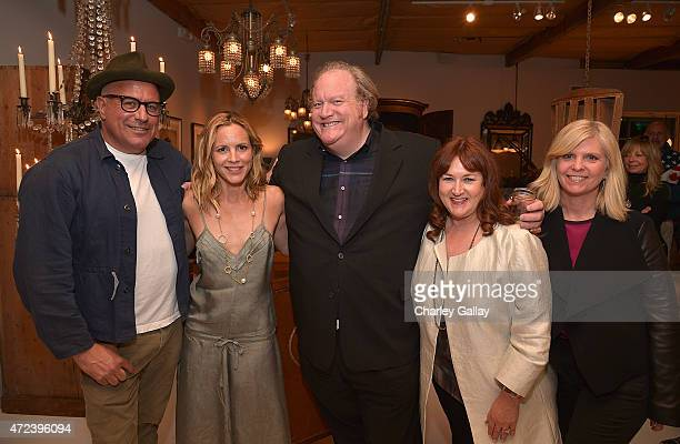 Obsolete owner Ray Azoulay actressauthor Maria Bello manager John Carrabino Heidi Schaeffer and Kim Hodgert attend the party for Maria Bello's book...