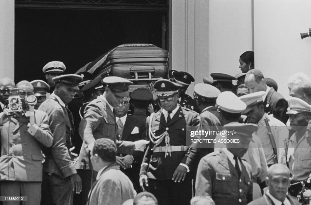Obsèques de François Duvalier en 1971 : News Photo