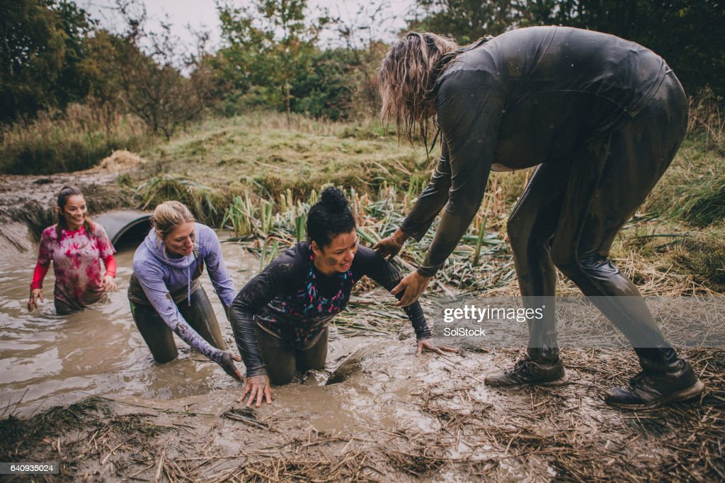 Obstacle Course Support : Stock Photo