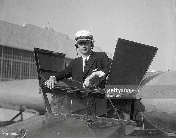 Obtaining the job under an assumed name, Howard Hughes, millionaire motion picture producer, was found working as a $250 a month pilot for American...