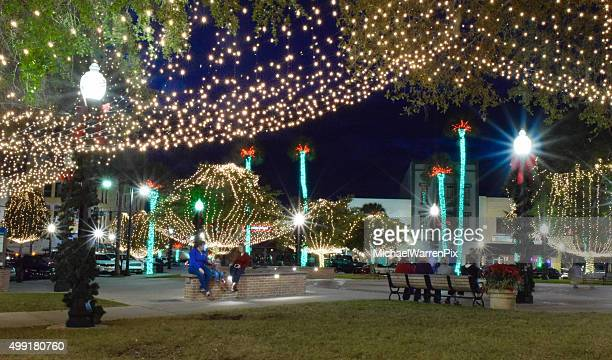 Ocala, Florida - Christmas Lights