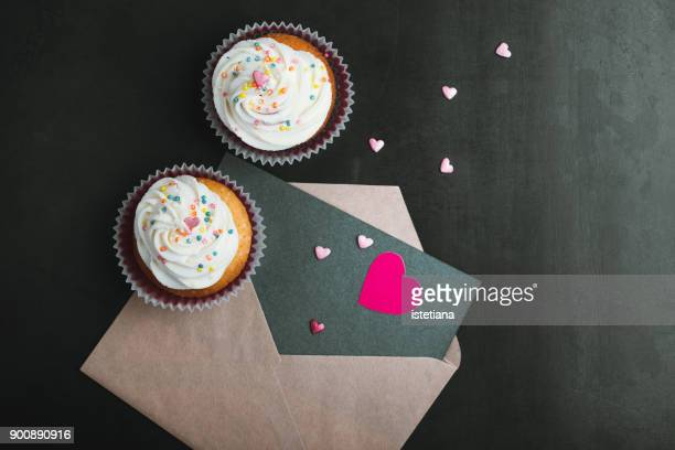 Occasions. Valentines day  cupcakes