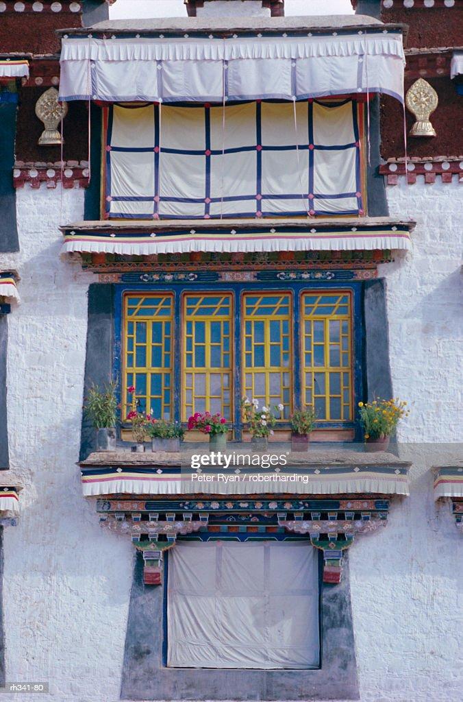 """Occupied part of Drepung lamasery (monastery), Tibet, China, Asia"" : Stockfoto"