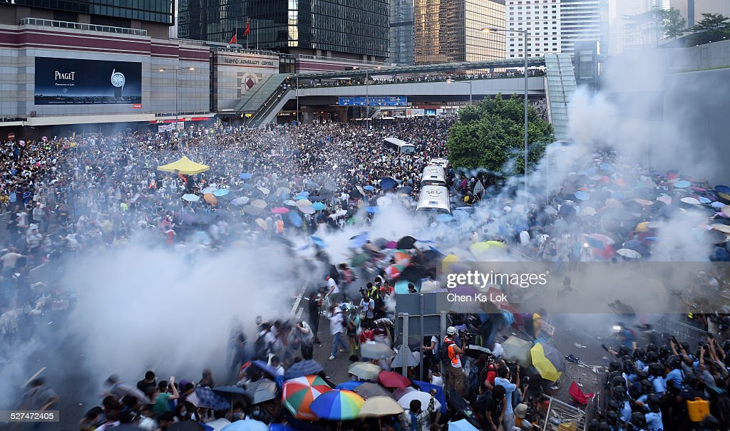 Occupy Central in Hong Kong : News Photo