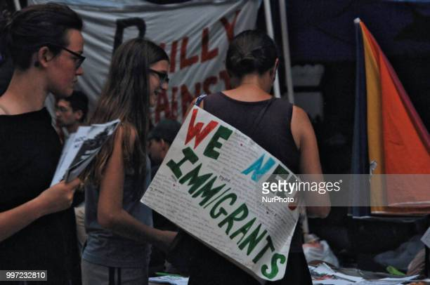 Occupy ICE Philly continues their occupation of City Hall holding teachins and a dance party calling for the abolition of Immigration and Customs...