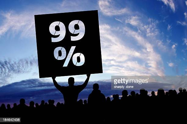 xxxl occupy movement protestors - inequality stock photos and pictures