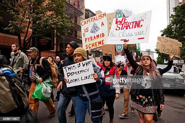 Occupy Portland march