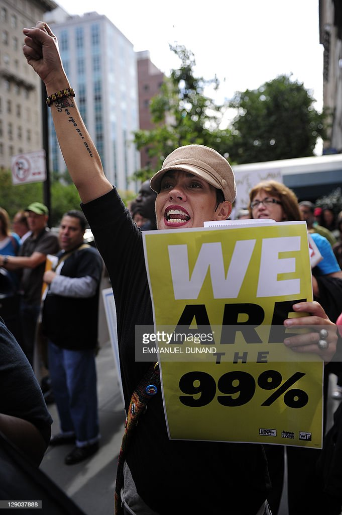"Occupy Wall Street protestors stage a ""M : News Photo"