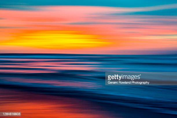 ocean art abstract - miami stock pictures, royalty-free photos & images
