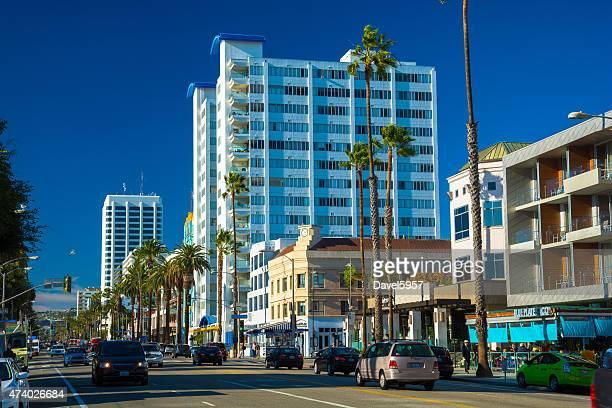 Ocean Avenue in Santa Monica