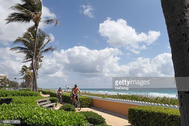 Ocean Boulevard in Palm Beach Florida