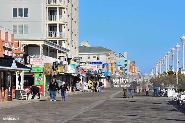 Ocean City Christmas Boardwalk Tourist