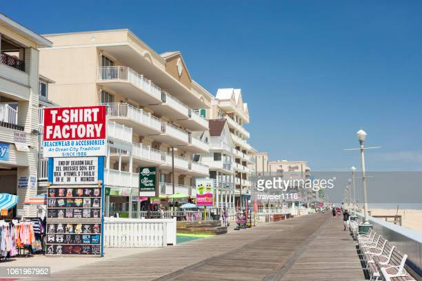 ocean city, maryland, usa - ocean city maryland stock pictures, royalty-free photos & images