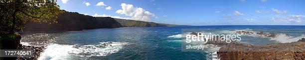 Ocean Coastline--Maui
