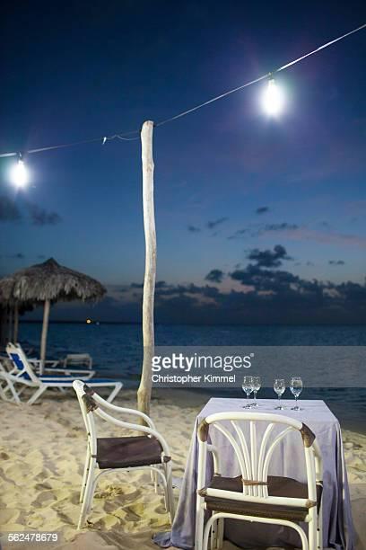 Ocean front dining, Cayo Coco, Cuba.