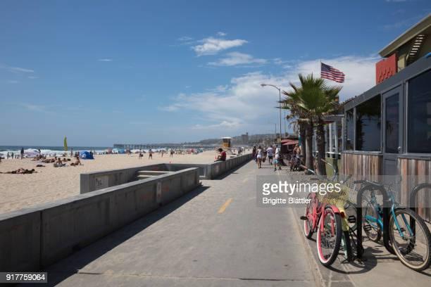 Ocean front walk in San Diego