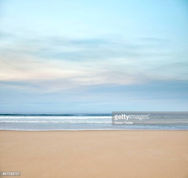 ocean horizon - beach stock pictures, royalty-free photos & images