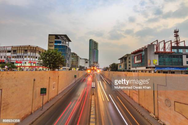 ocean mall & tower - pakistani culture stock photos and pictures