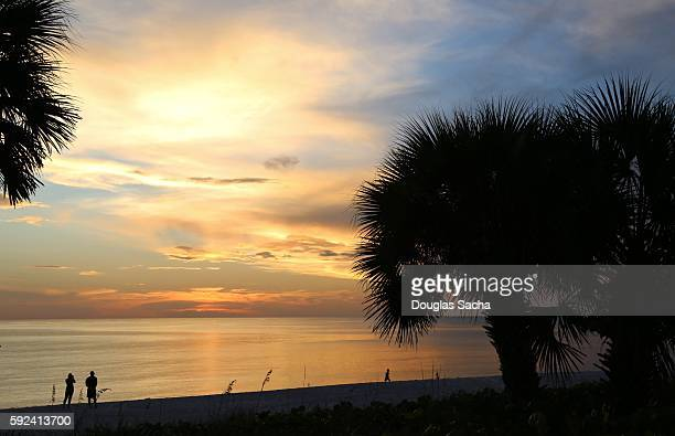Ocean paradise at Lovers Key State Recreation Area, Fort Myers Beach, Florida, USA