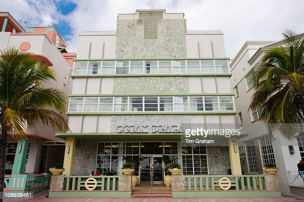Ocean Plaza at Hilton Grand Hotel in art deco district Ocean Drive South Beach Miami Florida USA