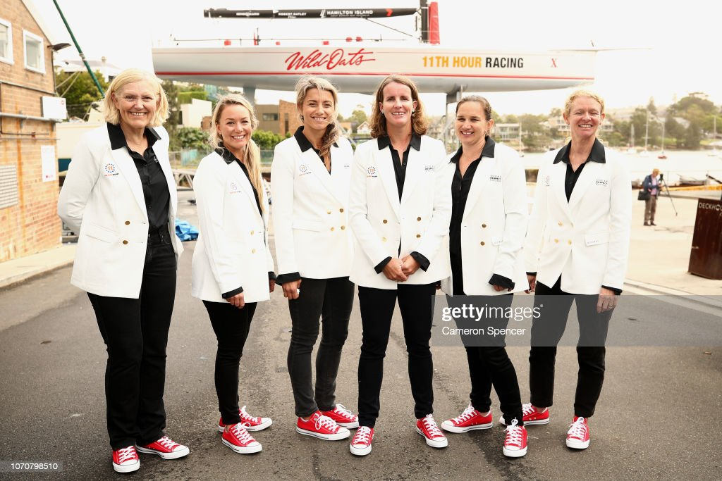 First All-Female Professional Crew Announces Entry To Sydney To Hobart Race : News Photo