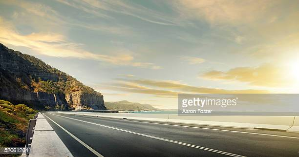 ocean road - road stock pictures, royalty-free photos & images
