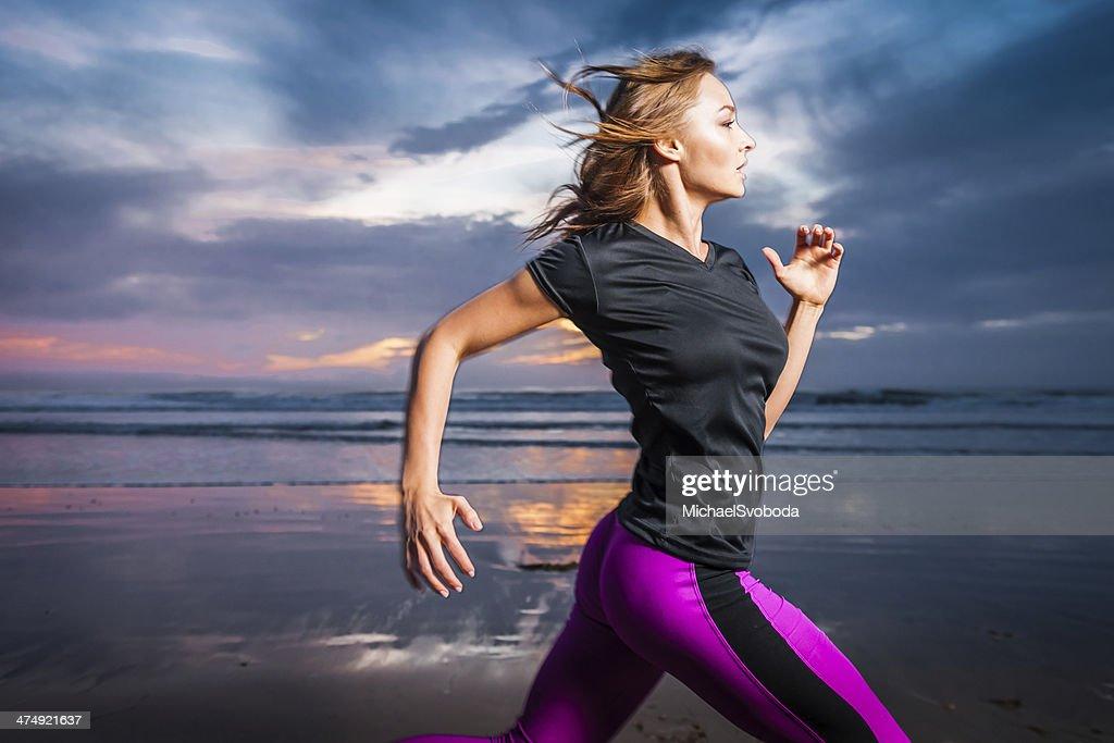 Oceano Runner : Foto stock