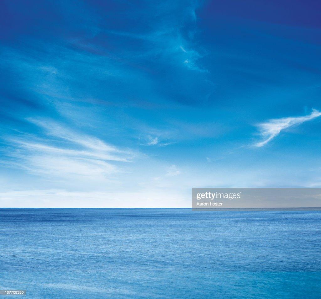 Ocean skyline 1 : Stock-Foto
