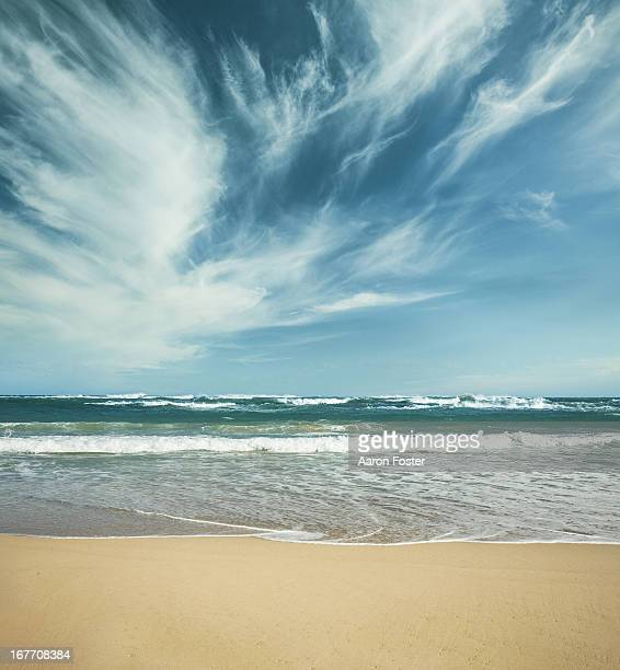 ocean skyline 7 - riva dell'acqua foto e immagini stock