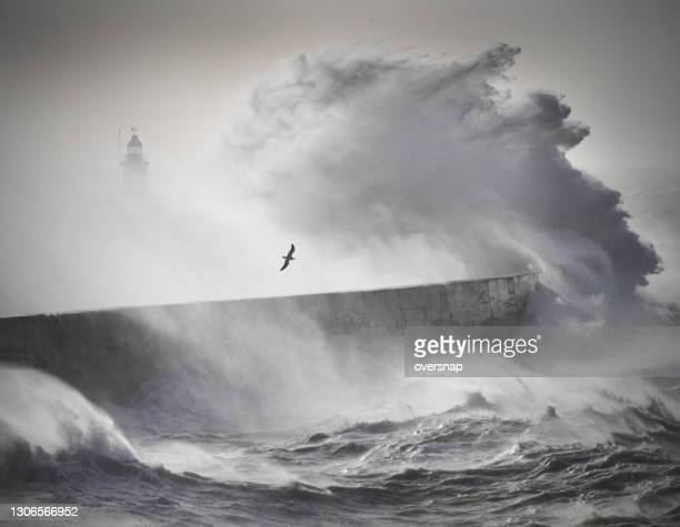 ocean storm - non urban scene stock pictures, royalty-free photos & images