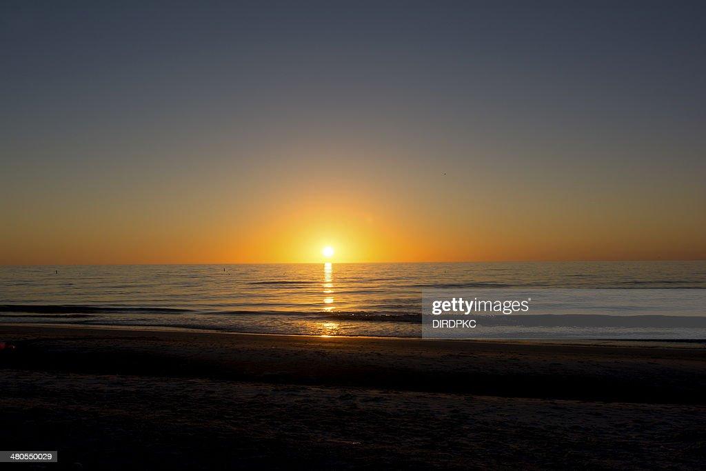 ocean sunset : Stock Photo